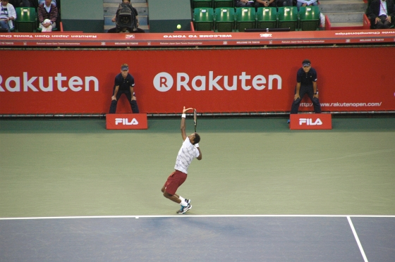 楽天ジャパンオープン 準々決勝